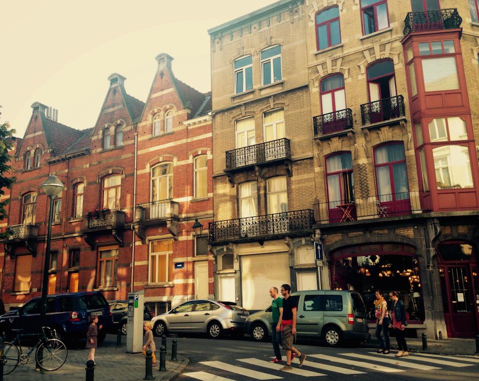 Brüssel St. Gilles Architektur Jugendstil