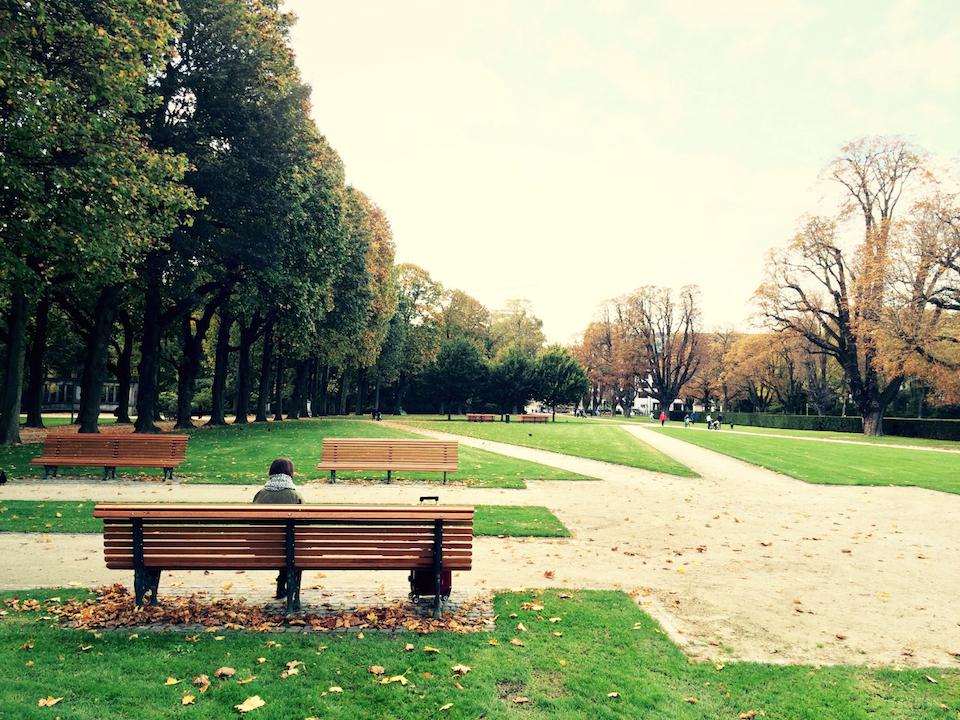 Parc du Cinquetaire Brüssel Brussels