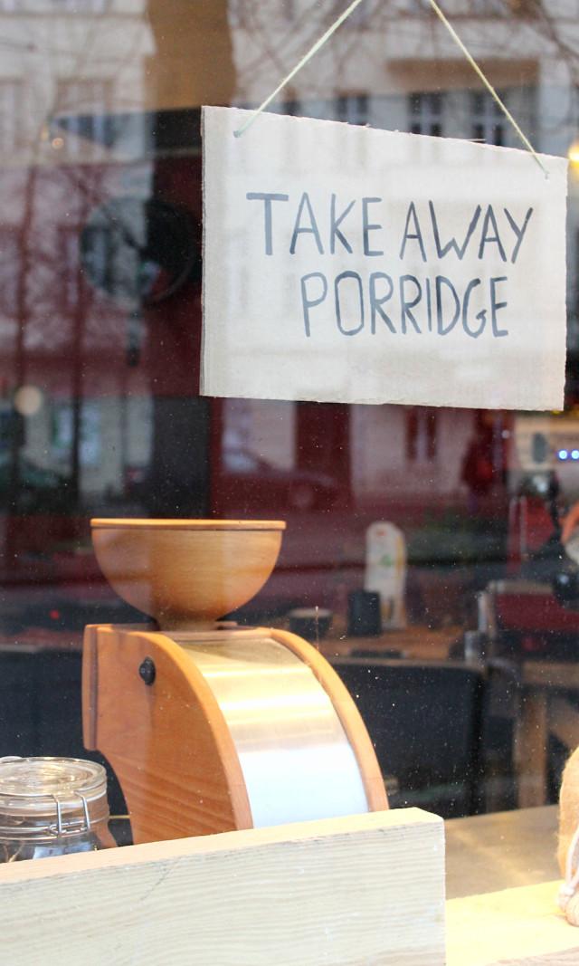 Haferkater Friedrichshain Porridge Streetfood