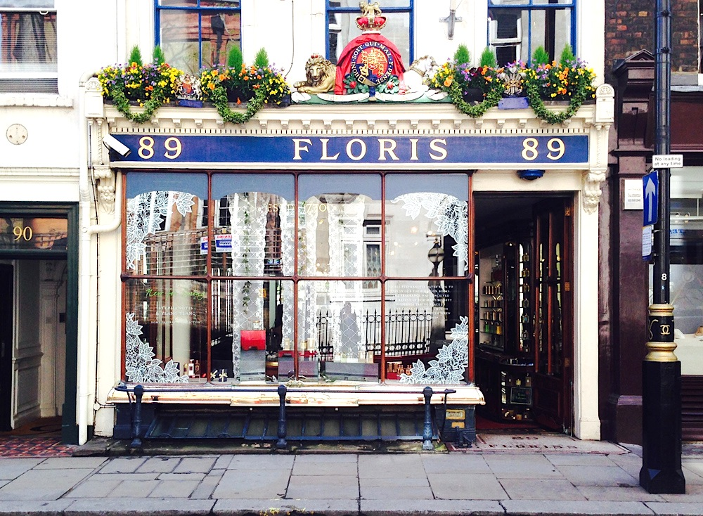 Floris London Fassade Jermyn Street