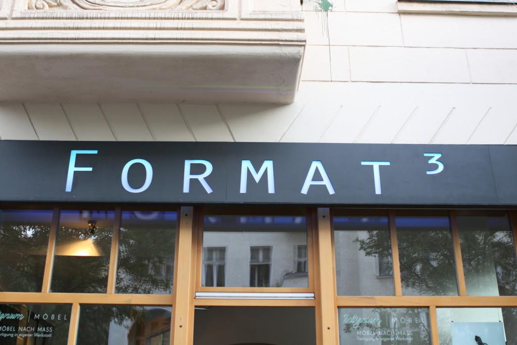 FORMAT³ - Außenansicht