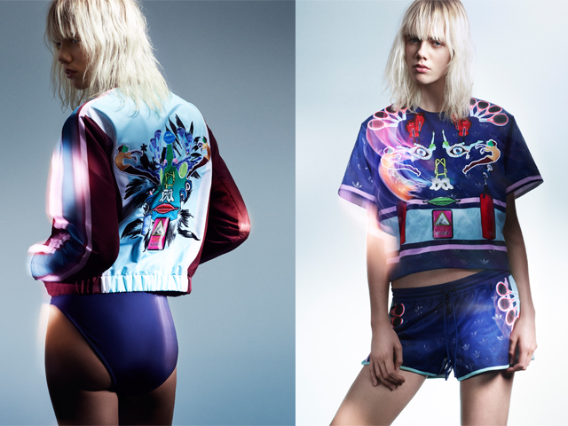 adidas originals x mary katrantzou capsule collection