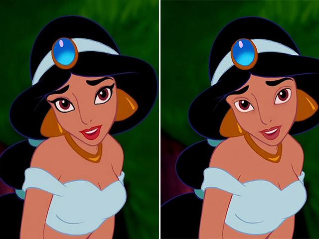 Disney-Prinzessinnen ungerschminkt