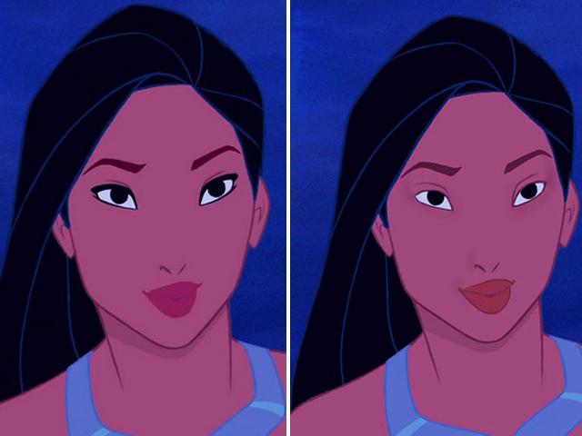Disney-Prinzessinnen ungeschminkt