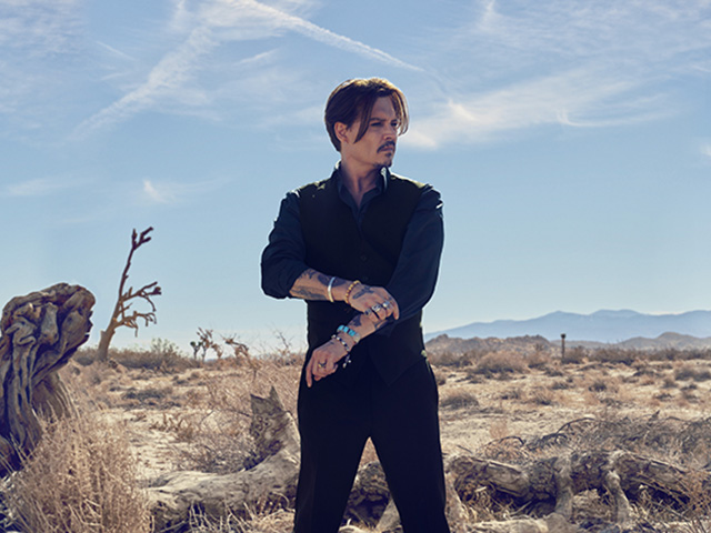 Dior Sauvage Johnny Depp