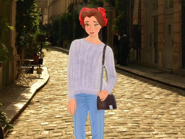 Disney Prinzessinnen als Streetstyle-Stars