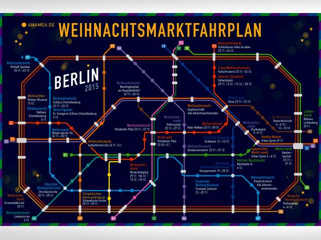 Weihnachtsmarkt-Fahrplan