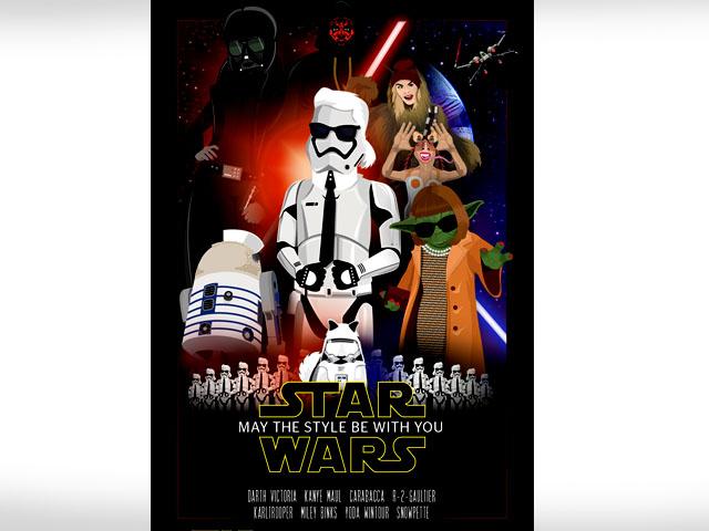 Modegroeßen Star Wars Charaktere