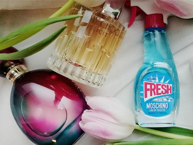 Die schoensten Fruehlingsparfums