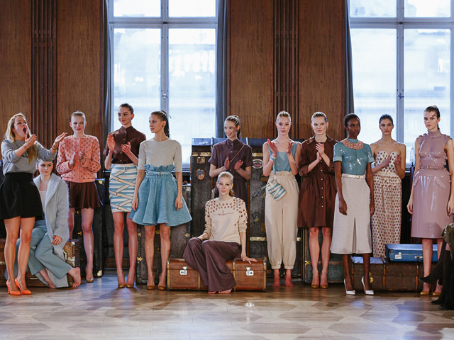 Fashion Week Berlin Marina Hoermanseder