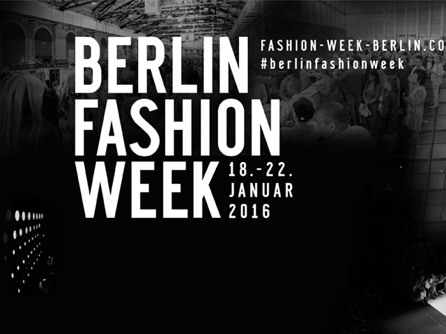 Fashion Week Berlin Schauenplan