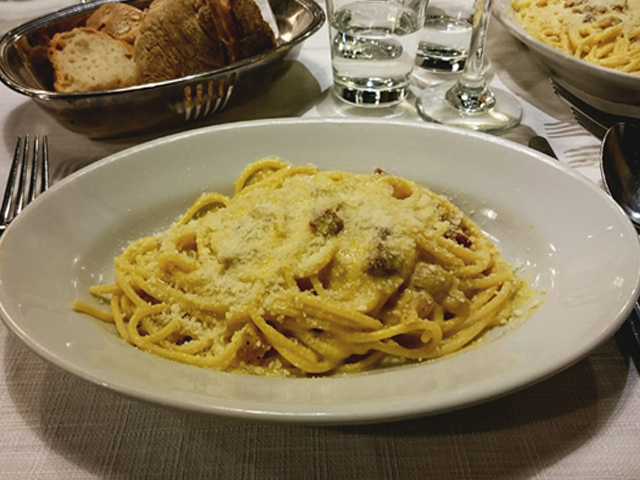 Da Felice Rom Spaghetti Cabonara