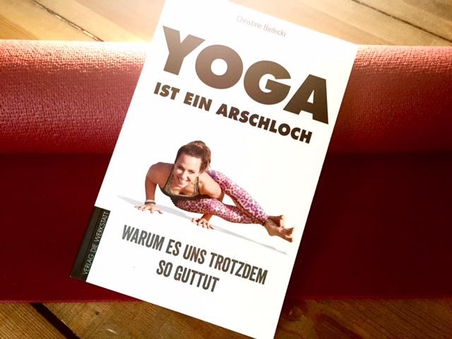 """Buch: """"Yoga ist ein Arschloch"""""""