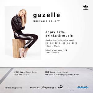 Adidas Gazelle Backyard Gallery
