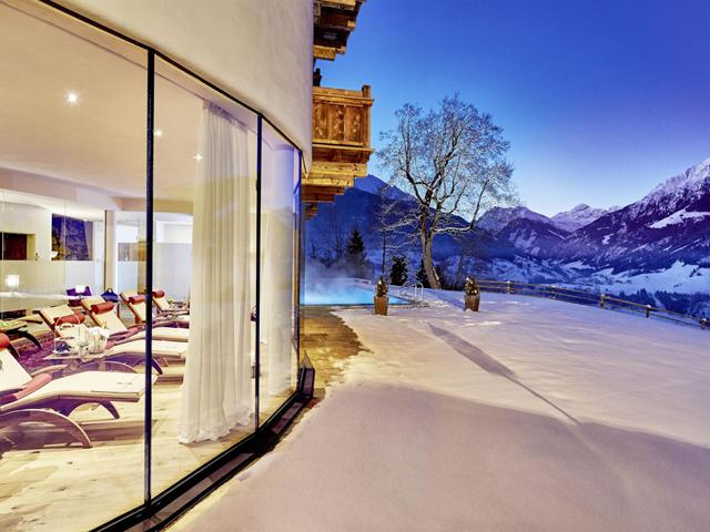 Ski und Spa Relaxhotel in den Alpen Schloss Mittersill