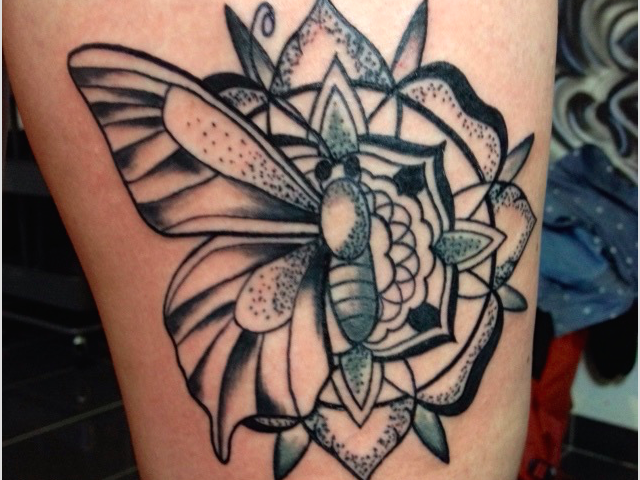 Tattoo_Mandala_Schmetterling