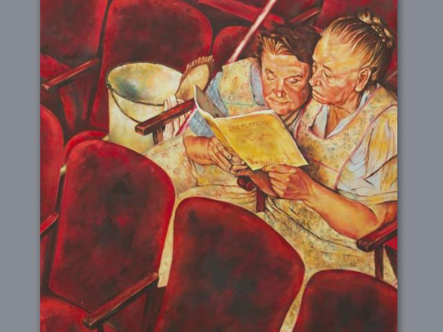Putzfrauen im Theater