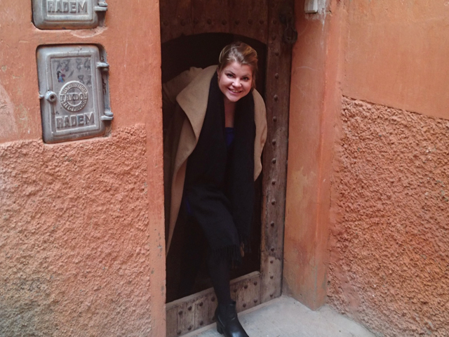 Marrakesch im Februar