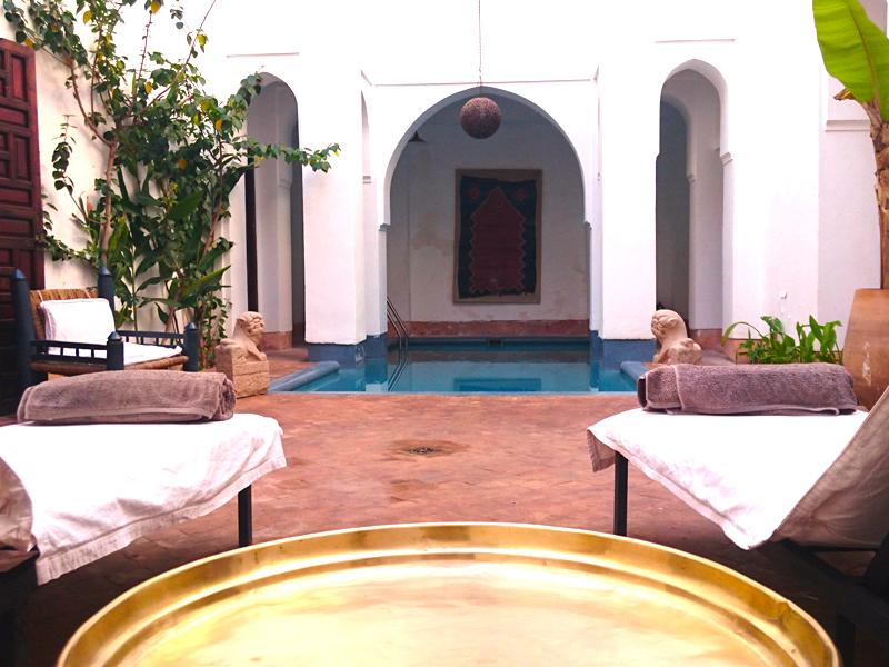Riyad El Cadi Marrakesch im Februar