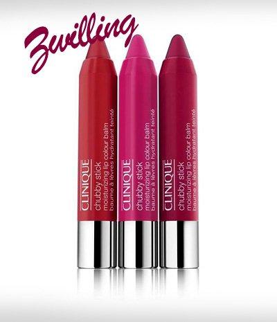 Perfekte Lippenstiftfarbe Zwilling