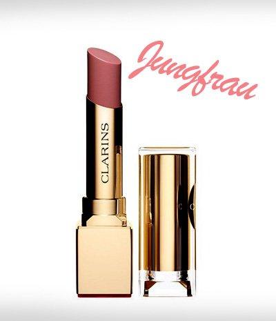 Die perfekte Lippenstiftfarbe Jungfrau