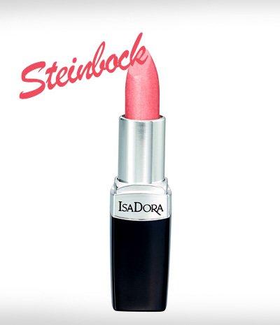 Perfekte Lippenstiftfarbe Rosa