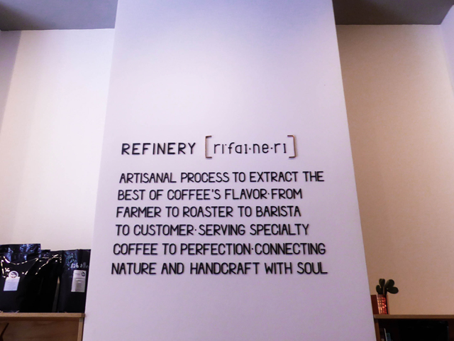Refinery High End Coffee Berlin