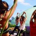 Yoga im Hotel de Rome