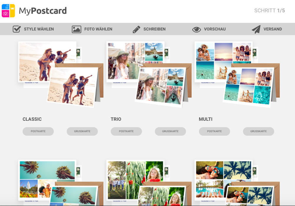 myPostcard Erfahrung Test