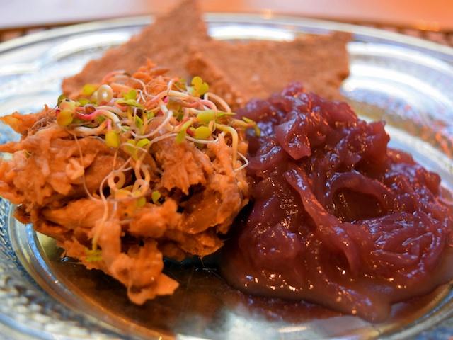 Easy Meal Frühstück: Pulled Pork mit Marmelade