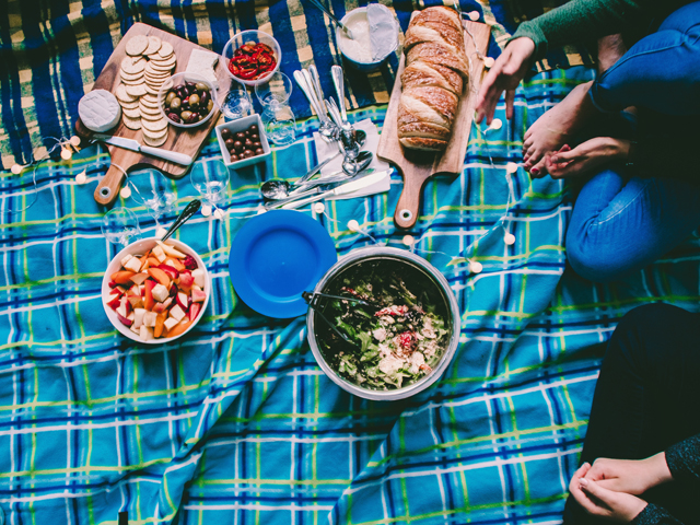 Picknick Stilvolles Picknick Must Haves