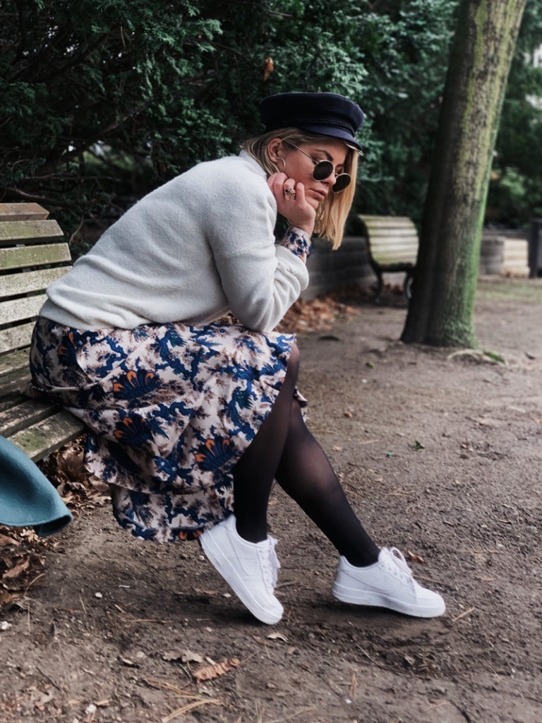Sandro Paris Frieda Hintze Friederike Hintze OOTD outfit of the Day
