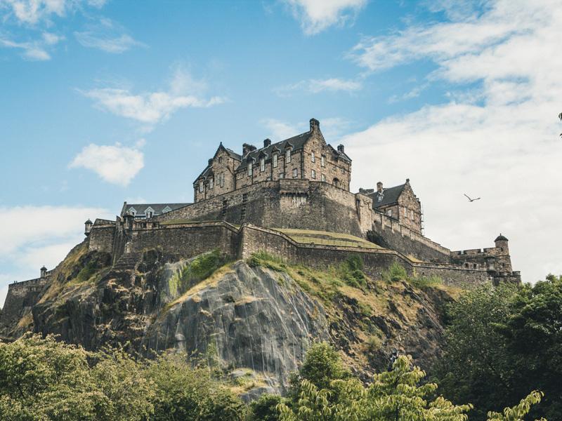 Edinburgh an einem Tag